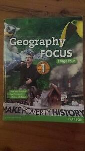 PEARSON GEOGRAPHY FOCUS 1 - TEXT BOOK Hurstville Hurstville Area Preview