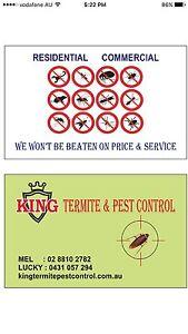 King termite & Pest control $99 Pendle Hill Parramatta Area Preview