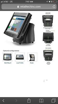 Partech Par Touchscreen Pos Terminal 15 Lcd 6000