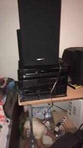 Kenwood stereo system with everything