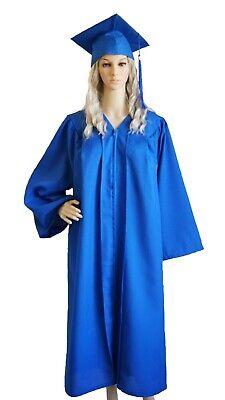 Graduation Cap and Gown 2019 Tassel  Bachelor or High School  Blue Unisex ](Graduation Gowns)