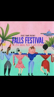 1x 3 Day Ticket for Byron Falls Festival + camping $450