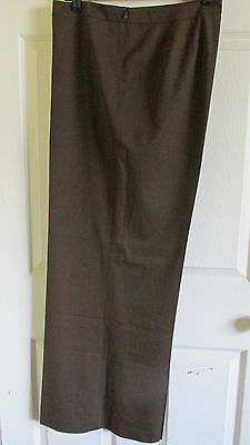 Size 18 Lafayette 148 New York Espre Wool Side Zip Dress Pant Nwt  348