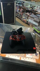 PS3 120 gb wired controller