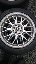 set of multi fit wheels Margate Kingborough Area Preview