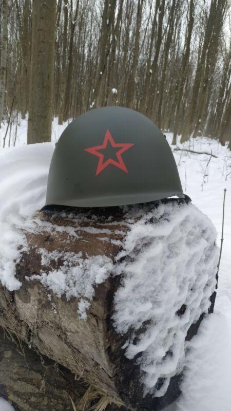 WW2 SSh 39 USSR  Helmet WWII ssh39. Combat helmet.