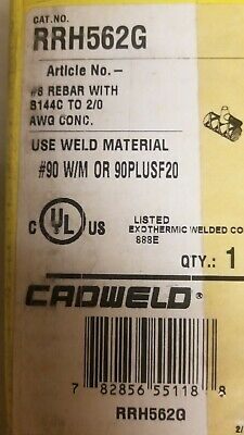 Rrh562g Cadwell Erico Cable To Rebar Mold