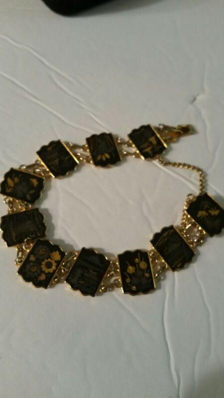Beautiful Damascene Bracelet