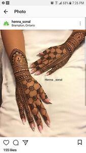Bridal henna/henna party