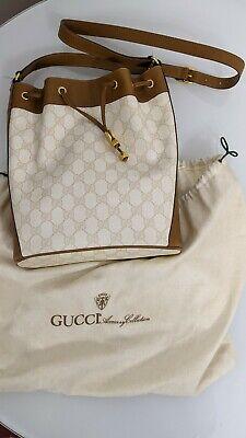 GUCCI drawstring bag or Cinch Sack with Original Bag includes COA