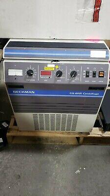 Beckman Coulter Gs-6kr Refrigerated Centrifuge
