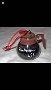 LOOKING FOR TIM HORTANS COFFEE POT ORNAMENT