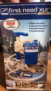 Water Purification System - Great For Camping or Travelling