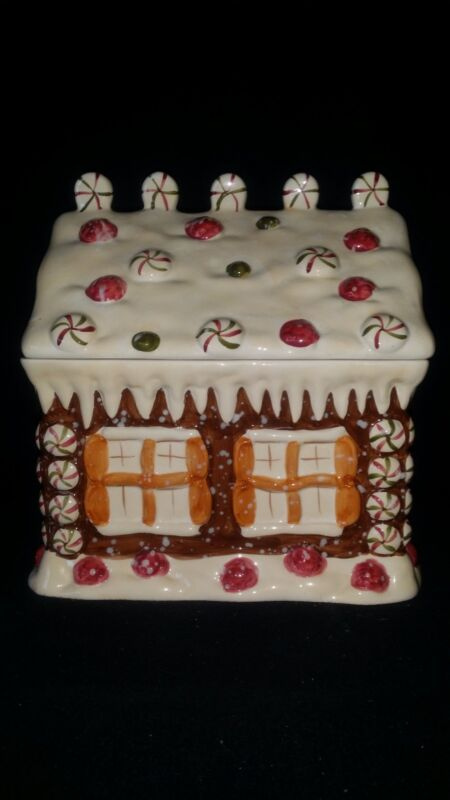 Christmas Gingerbread House Cookie Jar By Home