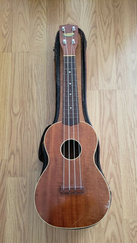 Vintage Solid Wood Ukulele Made By Harmony USA