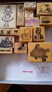 Rubber craft stamps Mitcham Whitehorse Area Preview