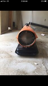 Construction heater 75,000 BTU