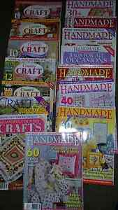 Craft magazines patchwork quilting country Newcastle East Newcastle Area Preview