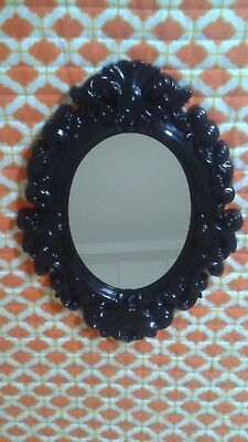 NEW Shabby Chic Hateful Decorative Wall Mirror 9.6 X 13 Inches ***Free Shipping***