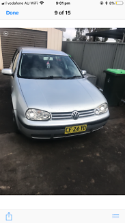 2001 Volkswagen Golf Hatchback Bass Hill Bankstown Area Preview