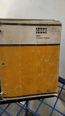 J I Case 850c Crawler Tractor Dozer Parts Manual Catalog