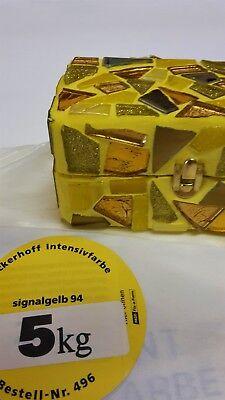 Fugenmasse Gelb 5kg Dyckerhoff Signalgelb alte Restbestände
