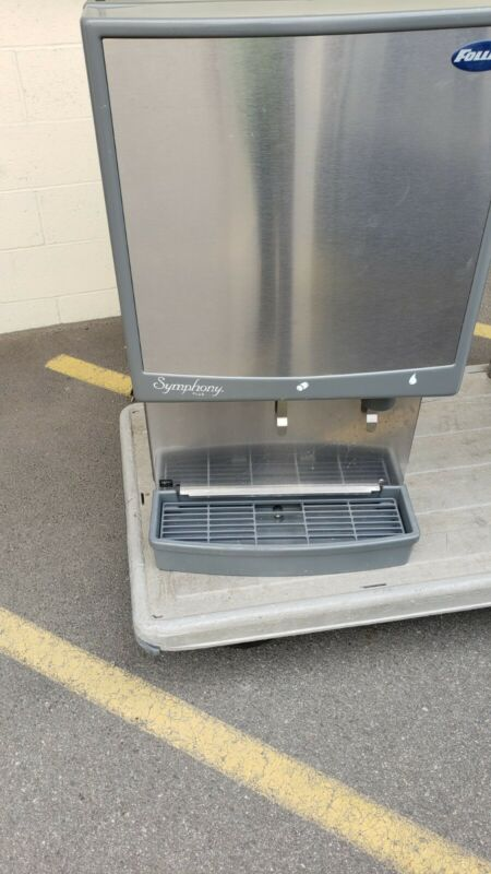 Follett 50CI425A Symphony Countertop Air Cooled Ice Maker and Water Dispenser