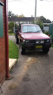 Toyota hilux 4wd 1996 manual North Ryde Ryde Area Preview