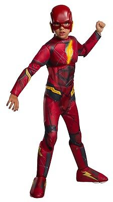Cheap Teenage Halloween Costumes (Deluxe The Flash Muscle Chest Light Up Small 4-6 Child Halloween)
