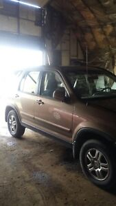 2004 Honda CRV for parts only