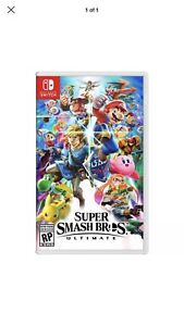 Super smash bros ultimate switch brand new unopened