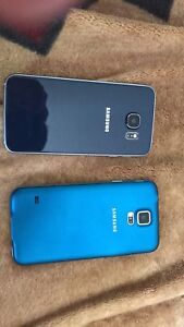 Samsung galaxy phones 5&6 200 for 6 n 140 for 5 340 for both
