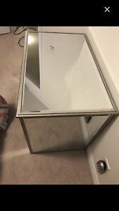 Glass Mirror desk