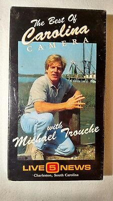 The Best of Carolina Camera with Michael Trouche VHS Tape Live 5 Charleston,