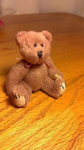 Handmade-Brown-Faux-Fur-Bear-3-5-Fully-Jointed