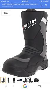 Baffin pivot boots brand new men's size 11 good to -94