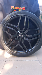 22 inch black alloy wheel  for range rover sport autobiography Daceyville Botany Bay Area Preview