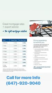 BEST mortgage rates in the market!!