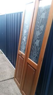 Bi fold doors with glass panel. Richmond Hawkesbury Area Preview