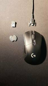 Logitech G305 Wireless Gaming Mouse Black w/