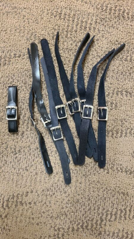 Leather Watch Fob Straps - 5 - other quantities available.