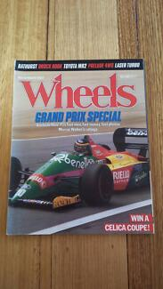 Wheels Magazine Nov. 1987, GP Special Brock Toyota Alfa Porsche