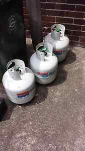 Gas bottles Earlwood Canterbury Area Preview