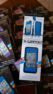 Iphone 4 and 4s lifeproof cases brand new $10 for 2  Two Wells Mallala Area Preview