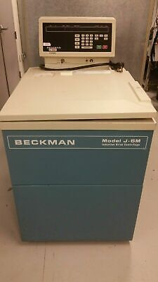 Beckman Refrigerated Floor J-6m Induction Drive Centrifuge 344281