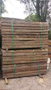 Genuine Hardwood Railway Sleepers B / 2nd Grade Condition Nerang Gold Coast West Preview