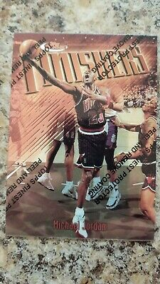 MICHAEL JORDAN 1997/98 Topps Finest #39 F1 with coating THE LAST DANCE