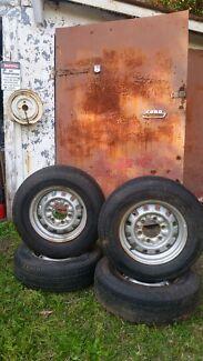 Mitsubishi Wheels & Tyres Set $50 Woonona Wollongong Area Preview