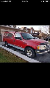 2000 FORD F150  XL $950 FIRM!!! As is not safetied or etested.