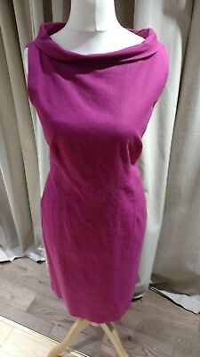 LADIES ANNE KLEIN Fuschia/Hot Pink Dress worn once.  Size US14/UK16 for sale  Shipping to South Africa